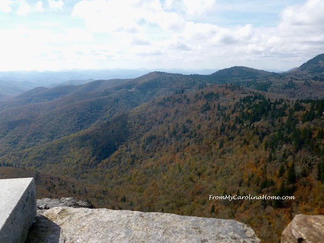 Hiking the Devil's Courthouse at FromMyCarolinaHome.com