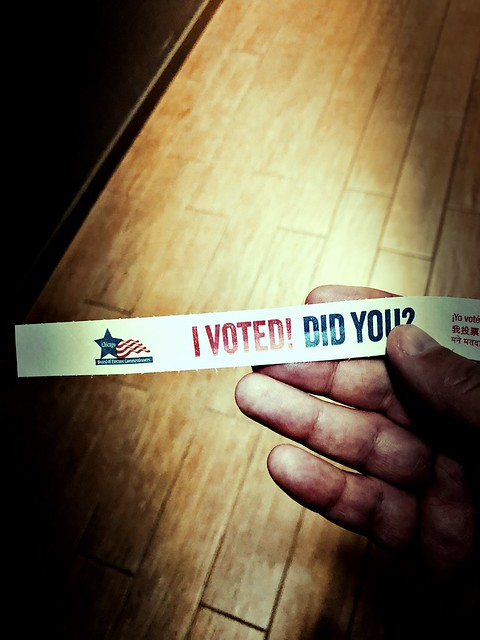 I voted! Did you?