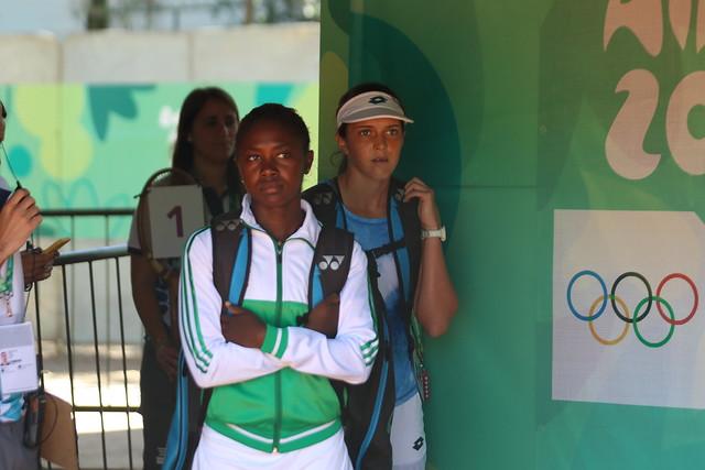 Estreno de la tenista Gaby Rivera en Buenos Aires 2018