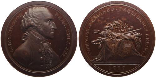 Washington Samson Medal Restrike