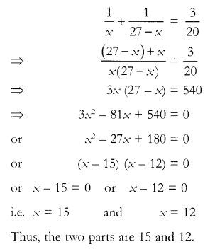 CBSE Sample Papers for Class 10 Maths Paper 12 Q 14