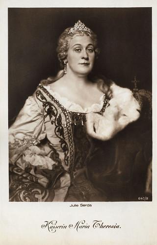 Julia Serda in Fridericus Rex (1922-1923)