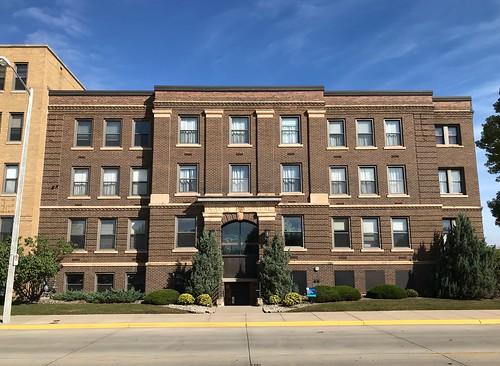 Old Naeve Hospital in Albert Lea Minnesota