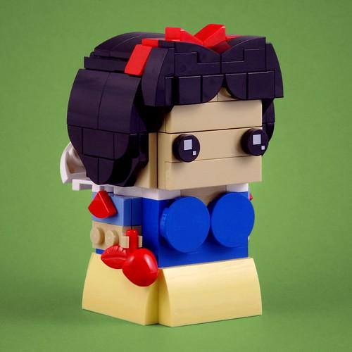 BrickHeadz: Snow White