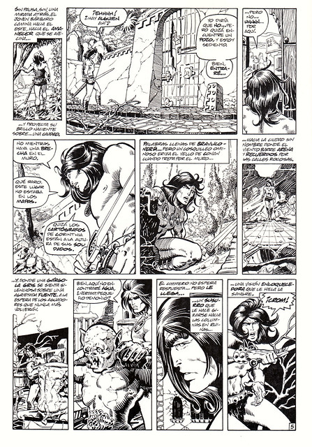 Conan de Roy Thomas y Barry Windsor Smith 03 -03- Tha Hall Of The Dead (Los Guardianes De La Cripta) -01