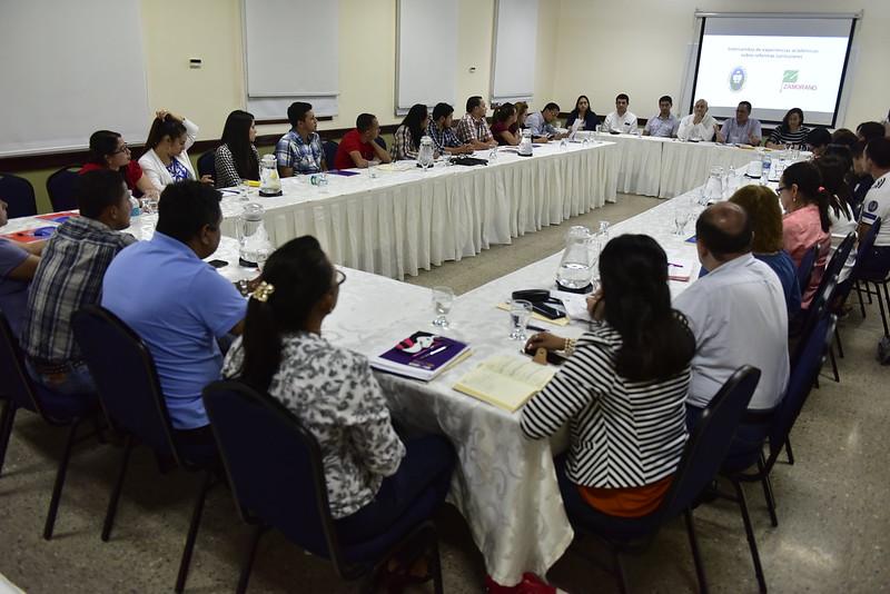 Cierre de Taller Intercambio de Experiencias Académicas sobre Reformas Curriculares