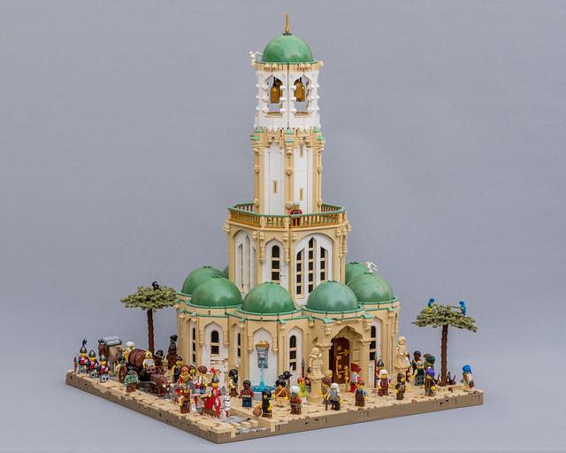 Aslanic Temple in Barqa