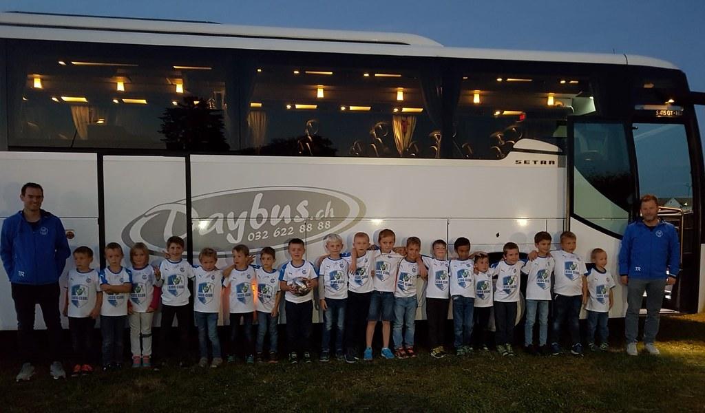 Unsere Junioren als Einlaufkinder in Zürich