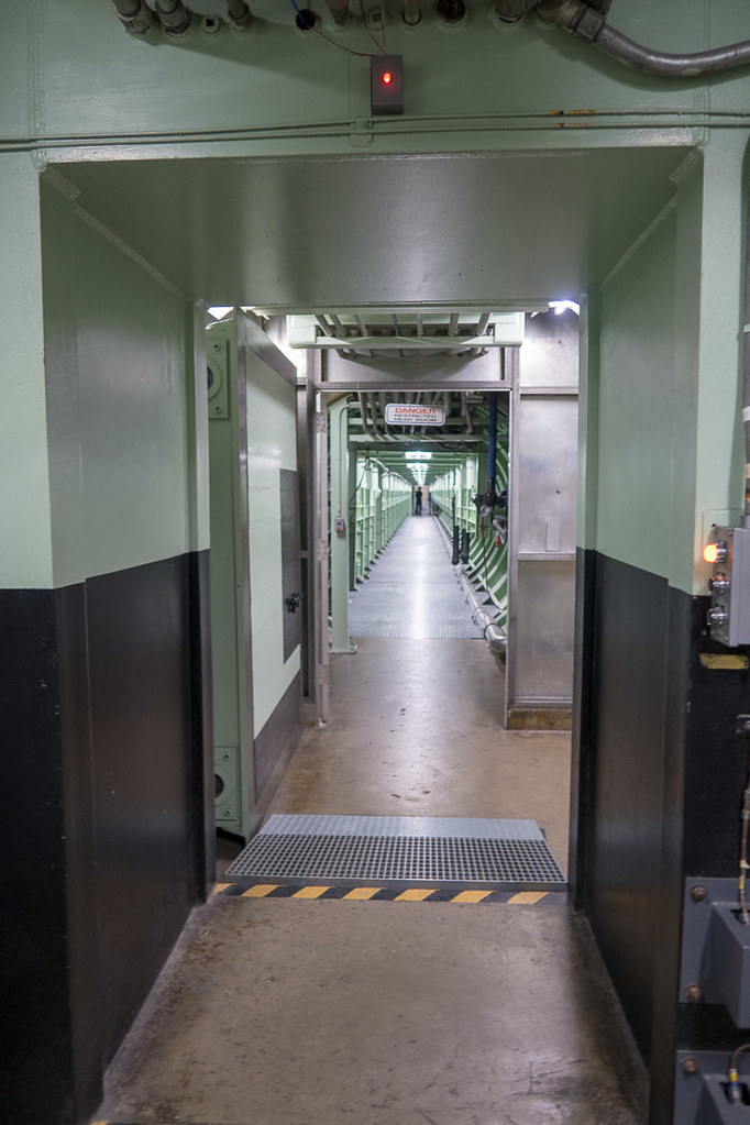 Hallways at Titan Missile Museum