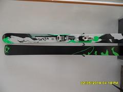 prašanovky lyže Volkl Shiro 173 cm - titulní fotka