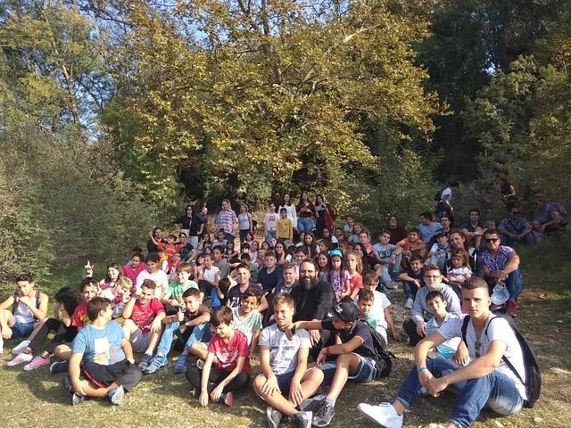 Εκδρομή του Κέντρου Νεότητας της Μητρόπολης Λευκάδας στη Λίμνη Ζηρού