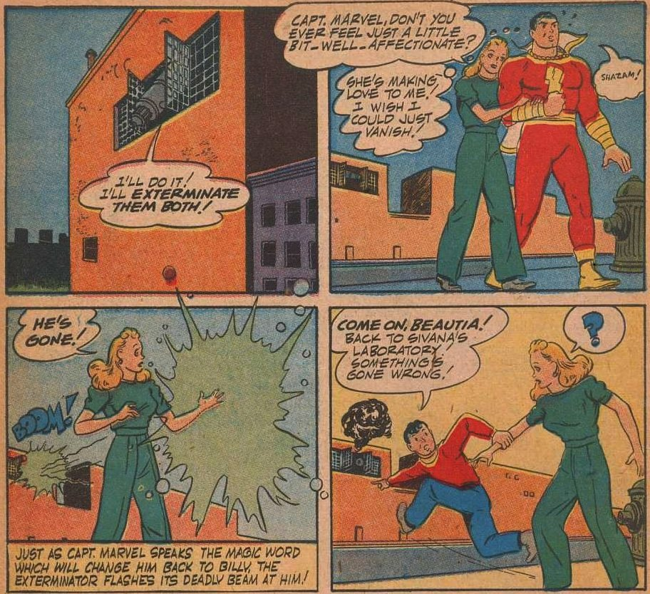 scans_daily | Making Love to Captain Marvel
