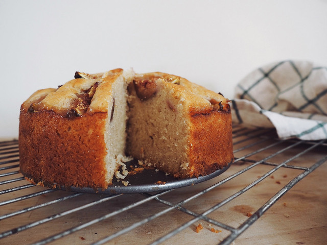 Ottolenghi Fig & Yogurt Cake - Being Little blog bake sweet treats recipe food blogger baking