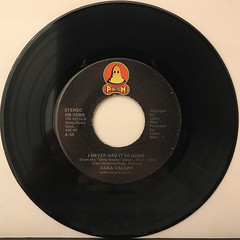 DANA VALERY:WILL YOU LOVE ME TOMORROW(RECORD SIDE-B)