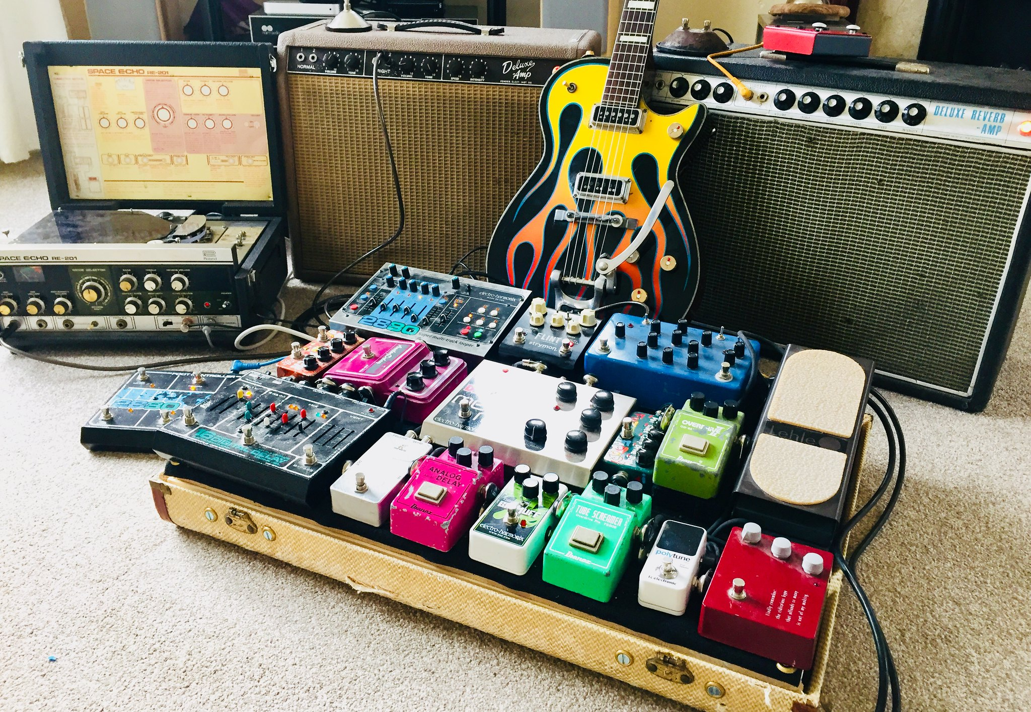 How Many Dirt (OD, Fuzz, Dist ) Pedals Live On Your Board