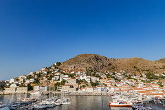 Harbour of Hydra island