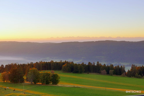 Sonnenaufgang auf dem Tour de Moron/ Turm von Moron