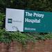 The Priory Hospital - Priory Road, Edgbaston - sign