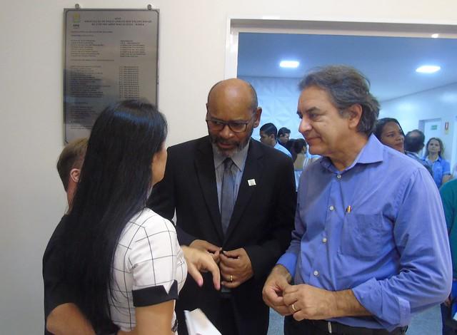 Inauguração da nova Escola Especial Renascendo no Saber - Apae LEM