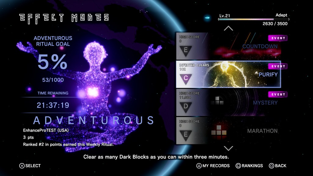 Tetris Effect for PS4 and PS VR