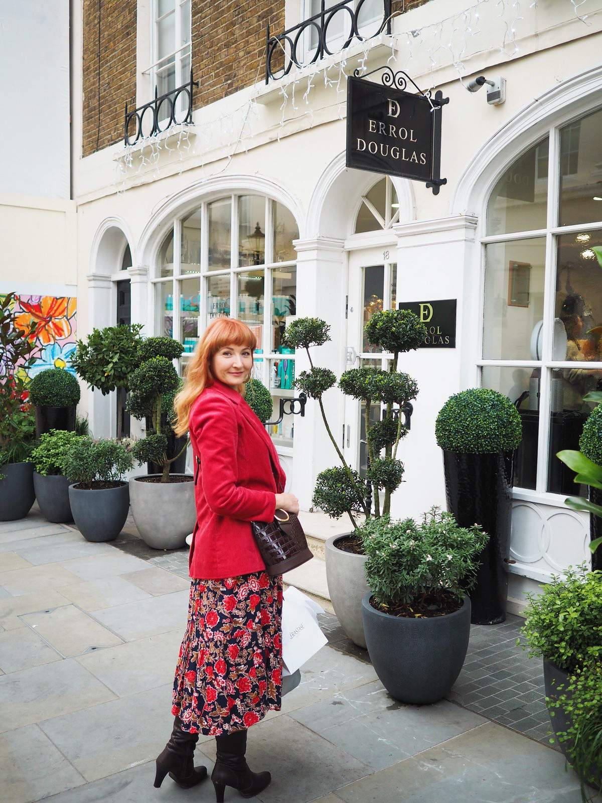 A Day Out in London for Adults: Belgravia (Errol Douglas hair salon) | Not Dressed As Lamb, a blog for over 40 women