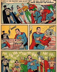#AJWoodson #SpringfieldIL #DC #DCComics #Cartoons #SuperFriends #JusticeLeague #Superman #Flash #Batman #WonderWoman #Aquaman #Robin #GreenLantern #Hawkman #Orion and where's #Robin? #tbt #funny  I don't know why¿ But this made me LAUGH my ass off! (<(°¿°