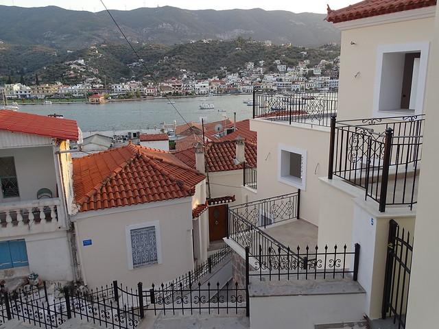 Geländer in Poros