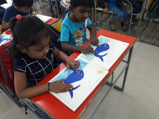 Colour Splash Blue Pre-Primary