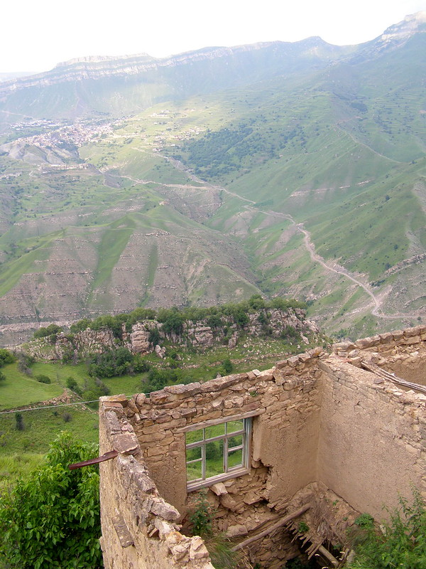 Dagestan.Aul Gamsutl Gamsutl, somewhere, life, nothing, high, nothing, mountains, long ago, abandoned, reliably