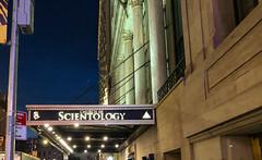 Church of Scientology Awning Sign, Manhattan, New York