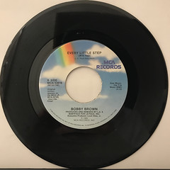 BOBBY BROWN:EVERY LITLLE STEP(RECORD SIDE-B)