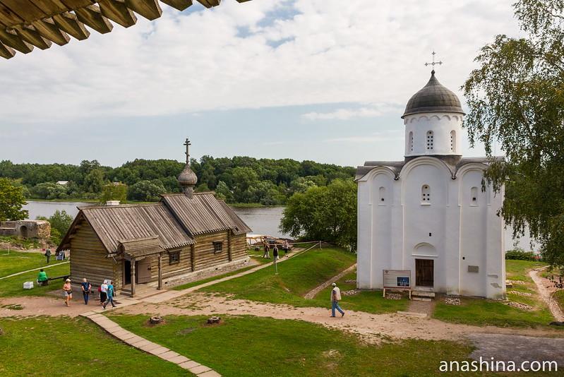 Церковь Димитрия Солунского и Георгиевский собор, Старая Ладога