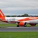 EasyJet Airbus A320Neo G-UZHA