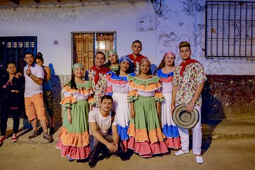 Fiestas de la raza en el municipio de Tarso