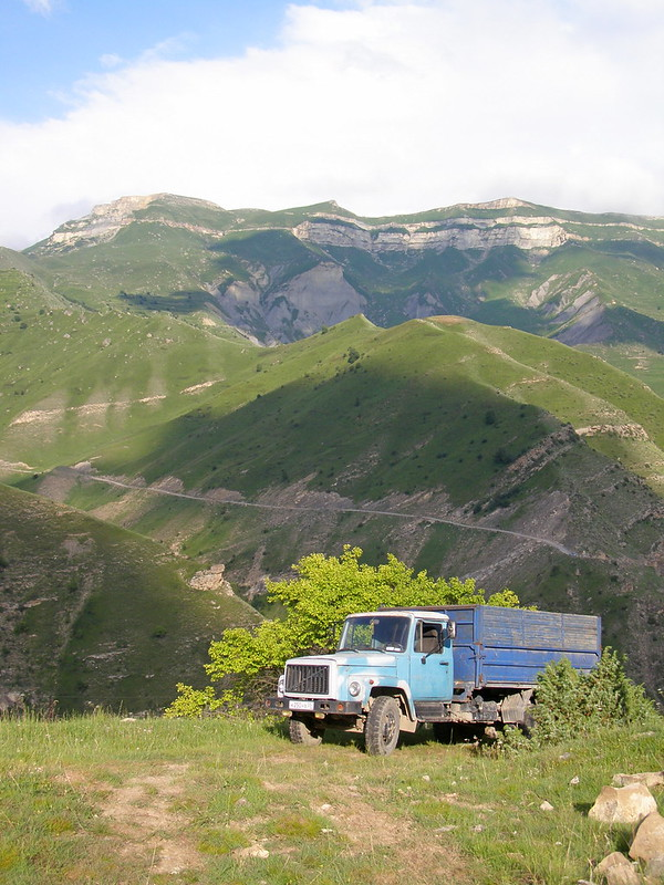Dagestan. Aul Gamsutl Gamsutl, somewhere, life, nothing, high, nothing, mountains, long ago, abandoned, reliably