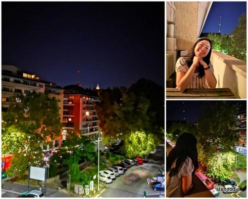 Vaticanum 67 balcony views