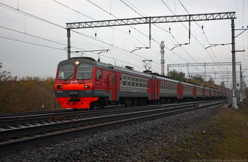 Электропоезд ЭД4М-0138