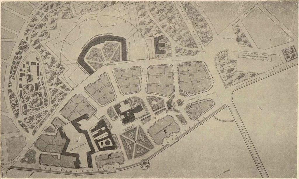 Реконструкция Петропавловской крепости план