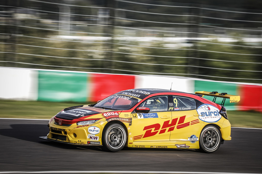 09 CORONEL Tom, (nld), Honda Civic TCR team Boutsen Ginion racing, action during the 2018 FIA WTCR World Touring Car cup of Japan, at Suzuka from october 26 to 28 - Photo Francois Flamand / DPPI