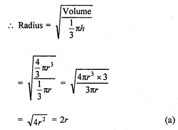 RD Sharma Mathematics Class 9 Solutions Chapter 21 Surface Areas and Volume of a Sphere