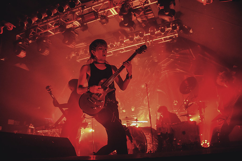 Crossfaith live at Electric Ballroom, London, 19 October 2018