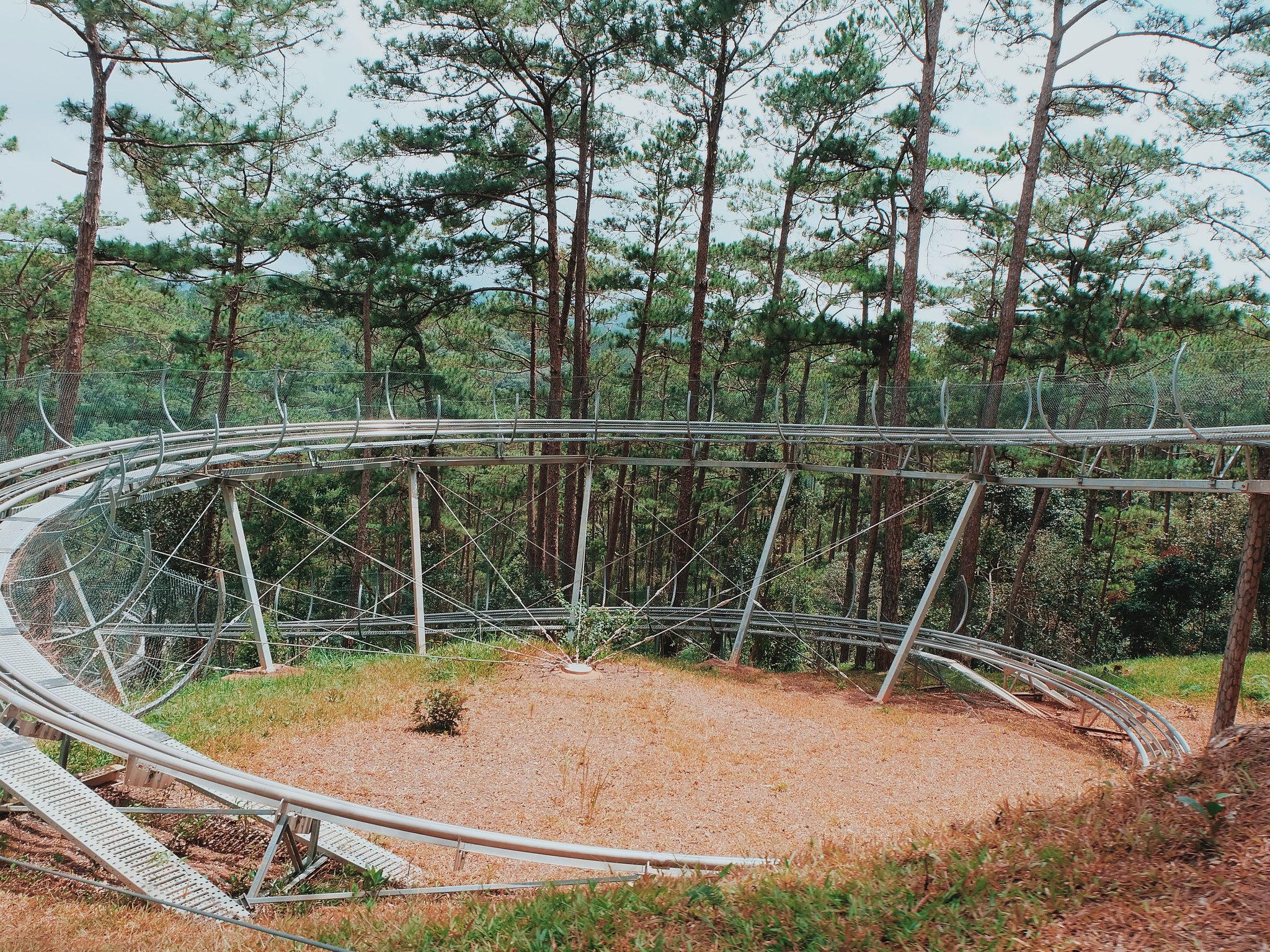 Roller Coaster to Datanla Falls