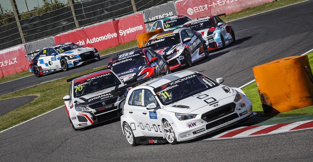 11 BJORK Thed, (swe), Hyundai i30 N TCR team Yvan Muller Racing, action during the 2018 FIA WTCR World Touring Car cup of Japan, at Suzuka from october 26 to 28 - Photo Francois Flamand / DPPI