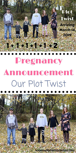 Pregnancy Announcement Idea for a Big Family #Pregnancy #pregnancyannouncement #pregnancyannouncementidea