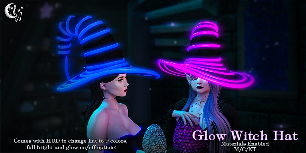 *NW* Glow Witch Hat