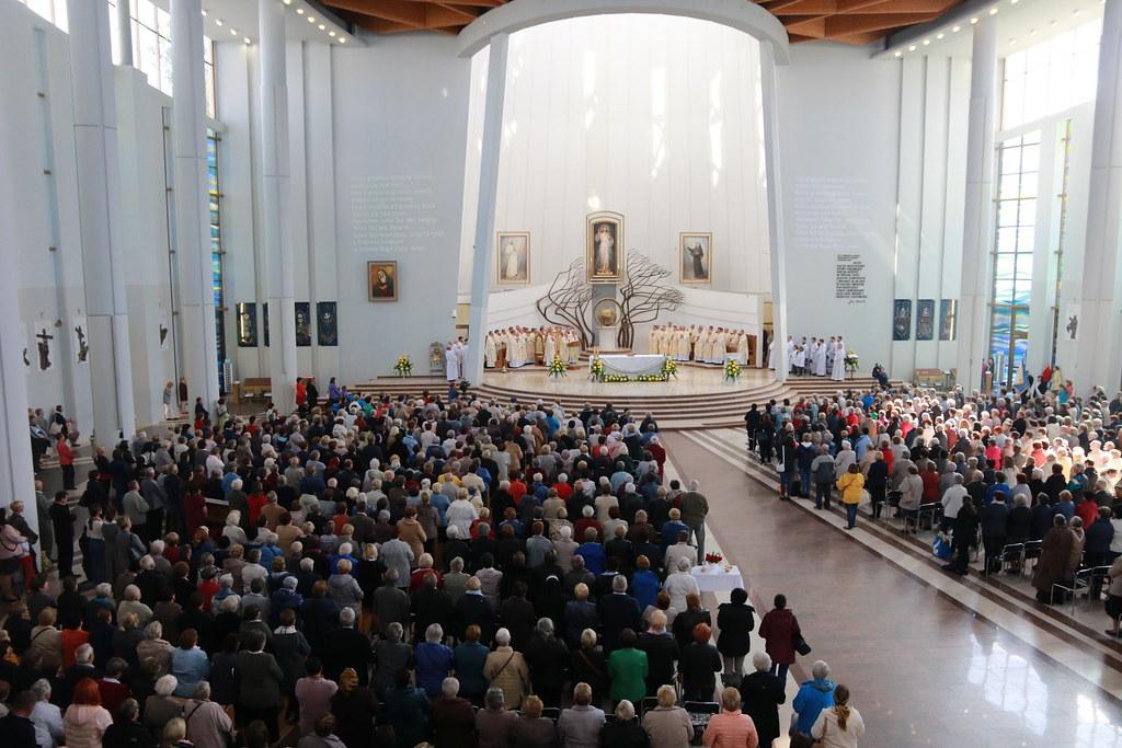 IX Pielgrzymka Żywego Różańca do Sanktuarium Bożego Miłosierdzia   Abp Marek Jędraszewski, 29.09.2018