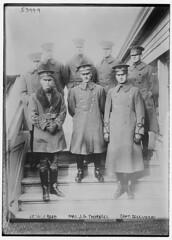 Lt. W.J. Reed, Maj. J.G. Thornell, Capt. Dale Mabry (LOC)