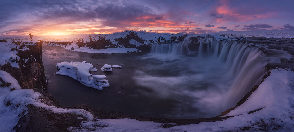 ElFoton18 puesto 4 PA10 04-Usuario Juliocastro Islandia - La Diosa de las Cascadas - Tomada en Godafoss, Islandia el 22-03-2018