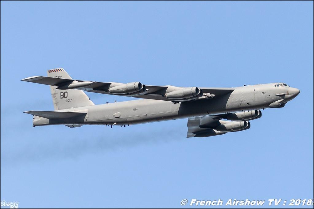 AFRC 70th Anniversary B-52 stratofortress EAA Oshkosh 2018