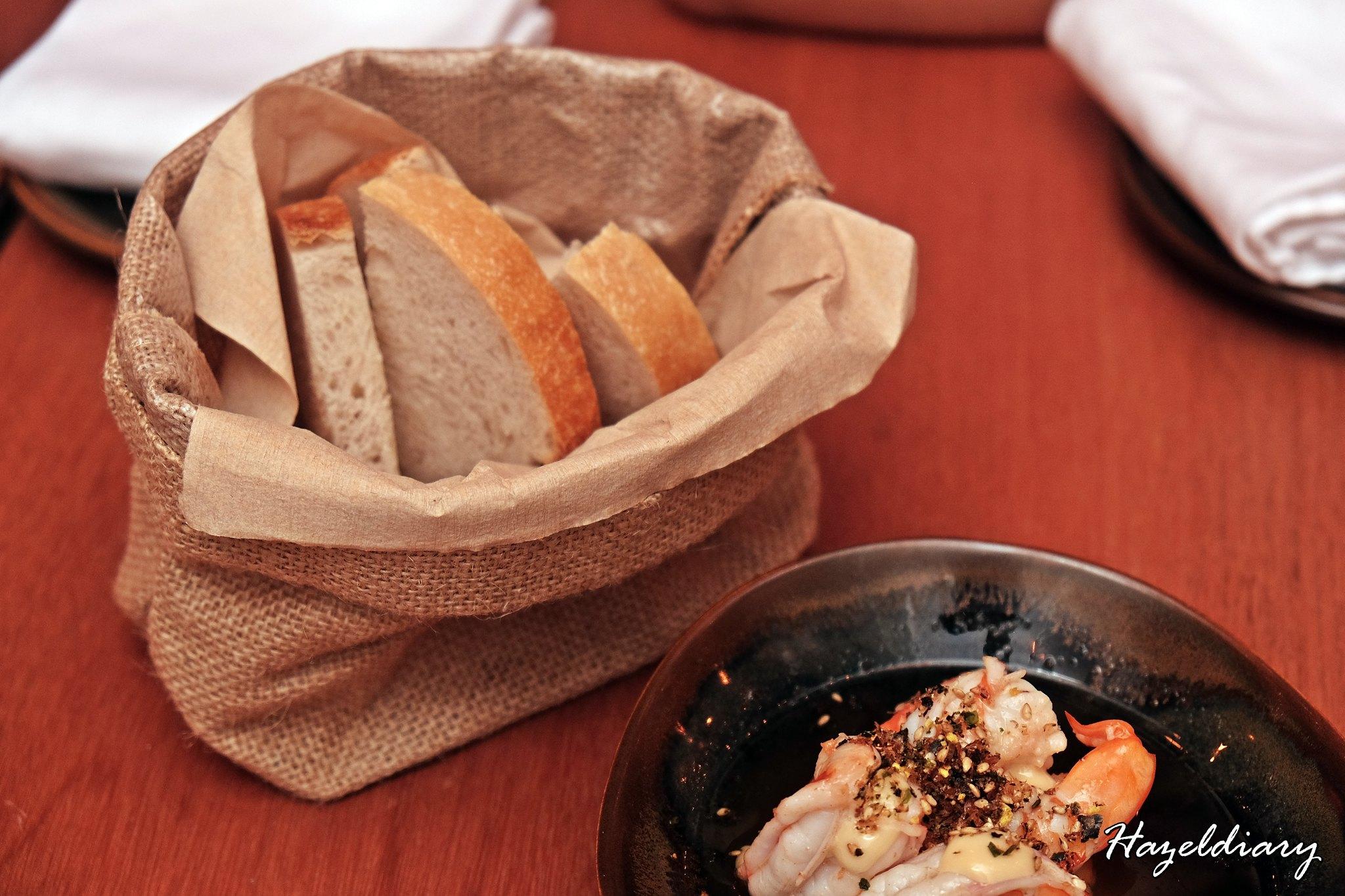 Kinou Tras Street-Prawning Spot with Bread